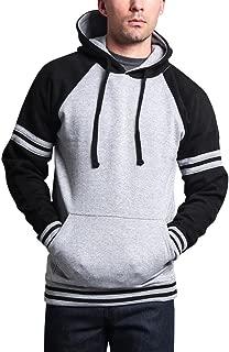 G-Style USA Premium Heavyweight Contrast Raglan Sleeve Pullover Hoodie