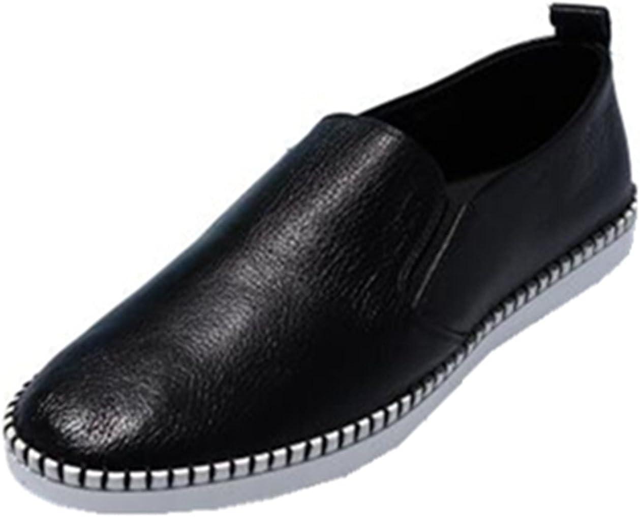 HAPPYSHOP TM Men's Very popular Casual Leather Ventilated Moccasin Light Bargain Slip