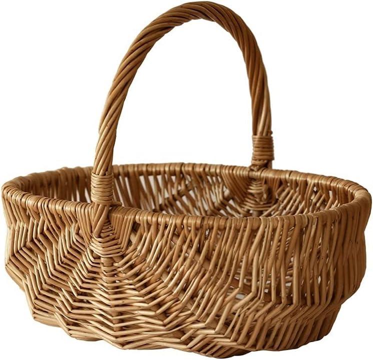 Woven Picnic El Paso Mall Max 89% OFF Basket Hand Carry Suppl Hamper Wicker