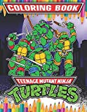 Teenage Mutant Ninja Turtles Coloring Book: 35 Awesome Illustrations for Kids