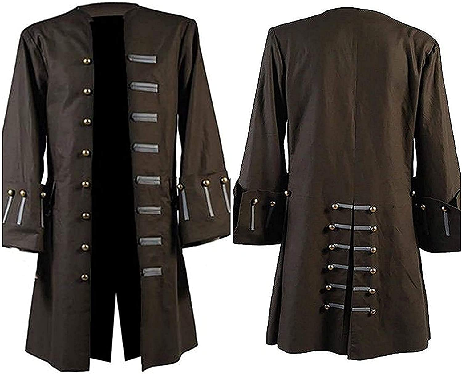 Pirates of The Caribbean Jack Sparrow All stores are sold Brown Cotton C Johnny Depp Cheap bargain