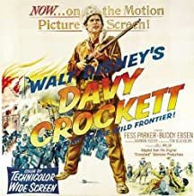 Davy Crockett, King of the Wild Frontier POSTER Movie (30 x 30 Inches - 77cm x 77cm) (1955)