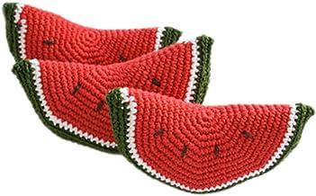 DELEY 1 PCS Bebé Juguetes de Niños Crochet Tejidos Vegetales Frutas sesión de Fotos Props