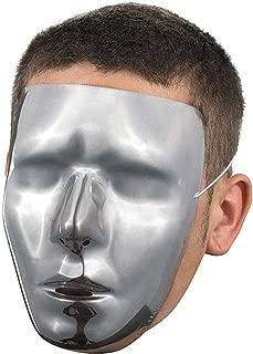 Blank Male Chrome Mask