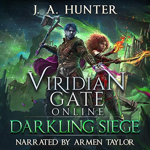 Page de couverture de Viridian Gate Online: Darkling Siege