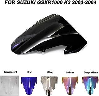 Bulle pare brise moto SUZUKI GSX-R 1000 K3 2003-2004 Noir