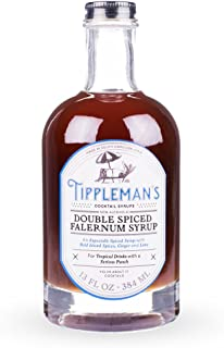 Tippleman's Double Spiced Falernum Cocktail Syrup - 13 oz