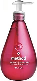 Method Liquid Hand Soap, Hollyberry-12oz