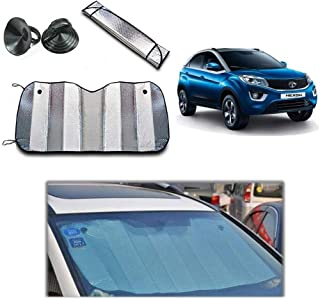 Car sunshade window UV Protection, Wind shield summer Front visor Aluminium foil double sided 130 Cm X 60 Cm
