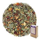 Núm. 1261: Té de hierbas 'Frutas deportivas' - hojas sueltas - 100 g - GAIWAN® GERMANY - manzana, rosa mosqueta, fresa, frambuesa y mora, cártamo (alazor), girasol y de malva