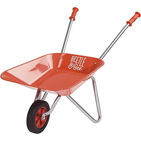 Toysmith Kid Sized Little Red Wheelbarrow