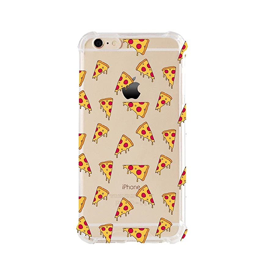 iPhone 6/6s Shock Absorption Case (4.7 inch screen), Pizza Pattern Design