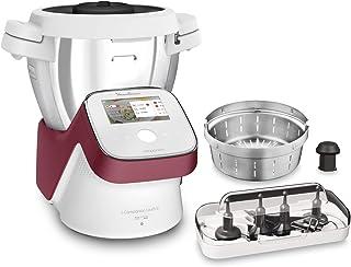 Moulinex I-Companion Touch XL Robot Cuisine Multifonction 1550 W Cuiseur Ecran Tactile Capacité 4,5L 10 Personnes 14 Progr...