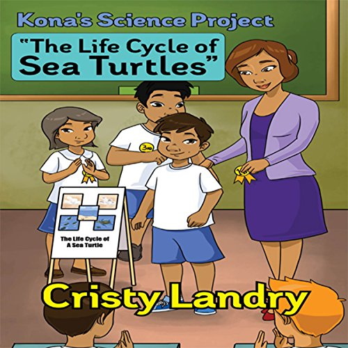 Kona's Science Project audiobook cover art