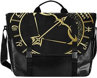 Golden Constellation Sagittarius - Bolso de lona para hombre y mujer, diseño retro