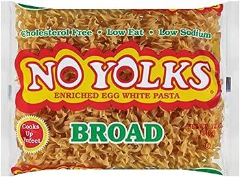 No Yolks Broad Noodles 12 oz Bag