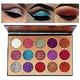 Jooayou 15 Ombra Eyeshadow Shimmer Palette di Ombretti Glitterato