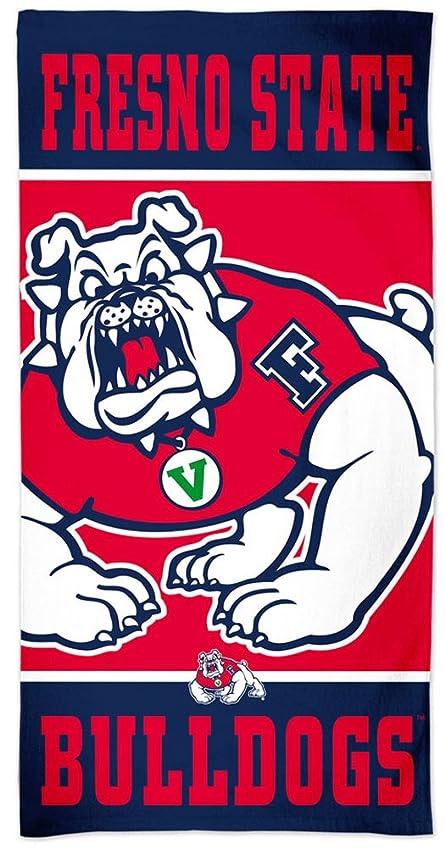 ヘッジ徴収敵対的Fresno State Bulldogs NCAA 30?x 60インチビーチタオル