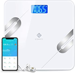 Sponsored Ad - Etekcity Scale Digital Weight and Body Fat, Smart Bathroom Fitbit Scale Bluetooth for Weight Loss, 400lbs, ...