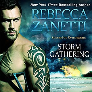 Storm Gathering audiobook cover art