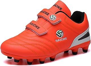 Zapatillas de Fútbol Niño Botas de Fútbol Niña FG/AG Aire Libre Atletismo Zapatos de Entrenamiento Unisex 28-39