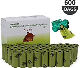 Bolsas caca perro, 600 Bolsas de Compost para Perros con
