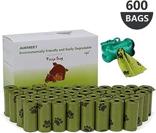 30 Bolsas para excrementos con dispensador 2 Rollos Grandes SmugPets perfumadas y antigoteo