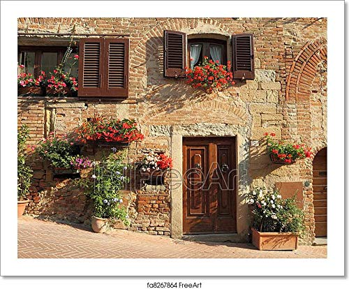 Barewalls Living in Tuscany Paper Print Wall Art (8in. x 10in.)