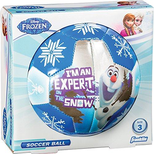 Franklin Sports Disney Frozen Size 3 Soft Foam Air Tech Soccer Ball