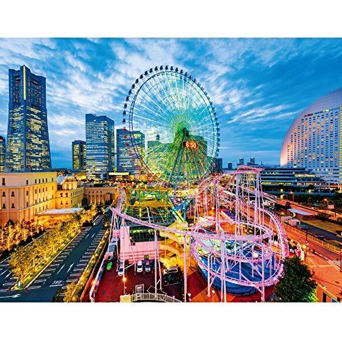 Lupovin 1000 PC Puzzle, soñadora Parque de Atracciones Juego de Puzzle, Rompecabezas de los niños Juguetes educativos, Juegos de Arte Moderno de la Pared Principal Festival de Regalo de la decoración