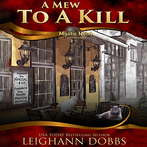 A Mew to a Kill audiobook cover art