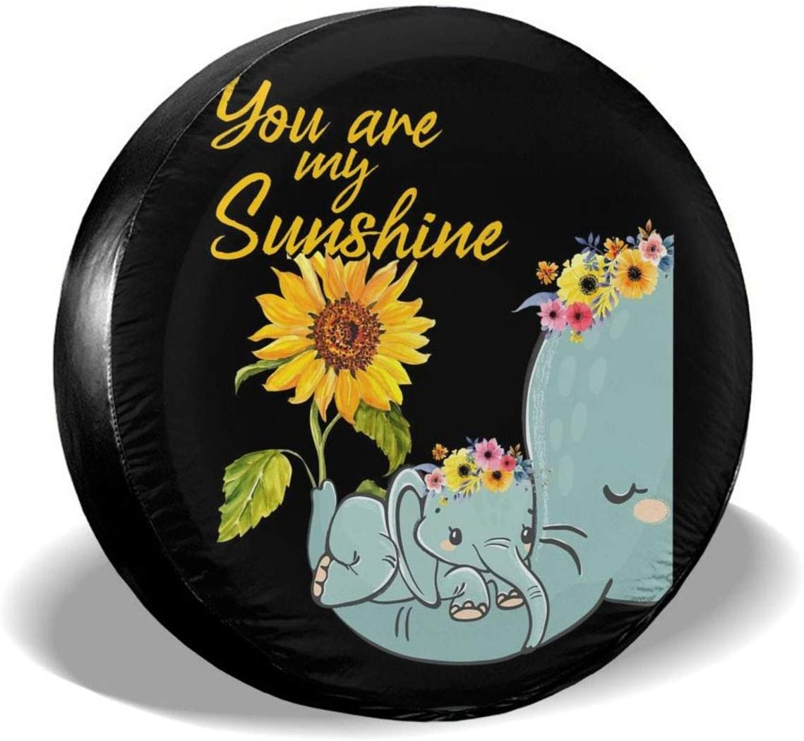 KXT Elephant Outstanding You are My Sunflower Dust-Proof Covers Austin Mall Spare S Tire