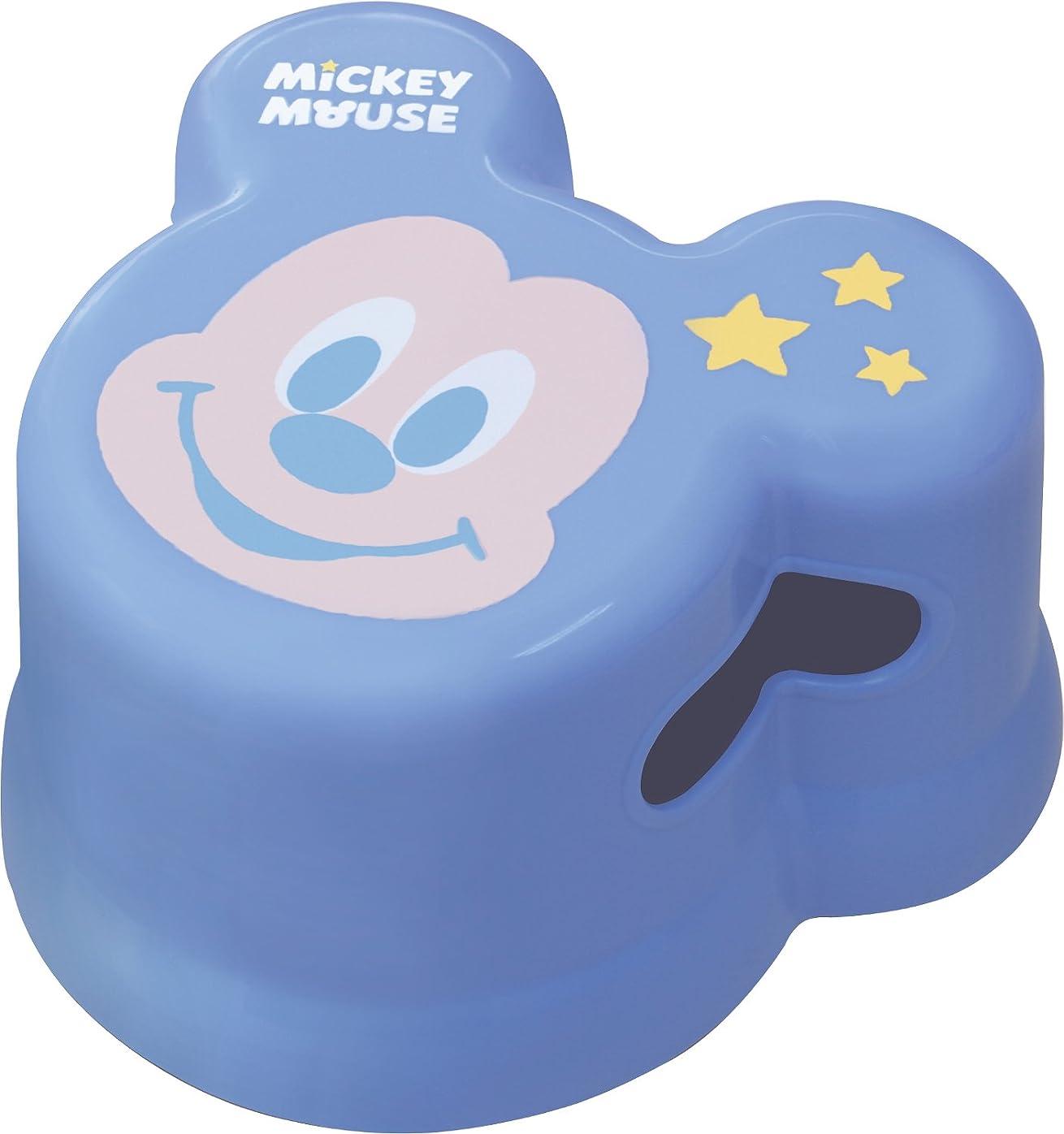 エキスパラメータクラウド錦化成 バスチェア ブルー 260×235×140mm ミッキー 子供用風呂椅子