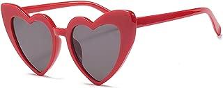 Vintage Heart Shaped Sunglasses Women Stylish Love Eyeglasses B2421