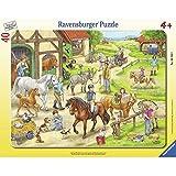 Auf dem Pferdehof - Puzzle mit 40 Teilen...