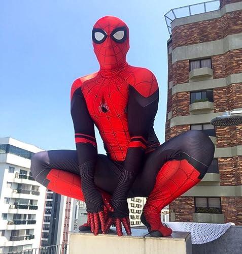 estar en gran demanda BLL BLL BLL Disfraz de Traje de Spider-Man Cosplay de la película para Niños Adultos 'Spider-Man  Far from Home' Adult-M  marcas en línea venta barata