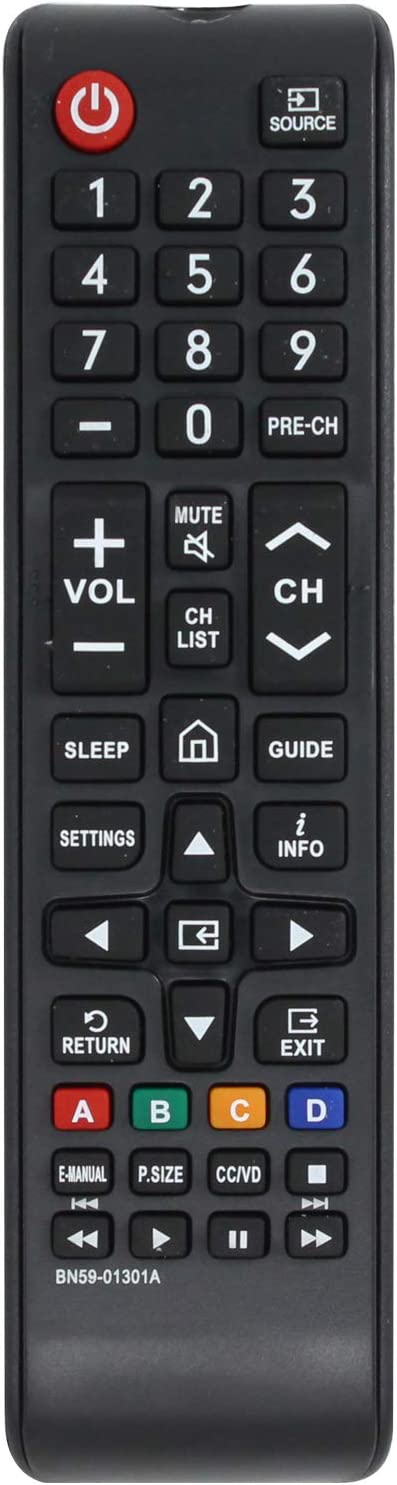 BN59-01301A Remote Control Replacement Compatible Max 54% Special Campaign OFF Samsung - with