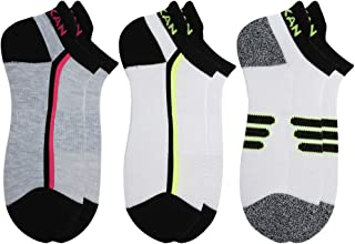 MEIKAN Running Socks No Show, Athletic Cushion Low Cut Socks for Men Women 1,3, 6 Pairs