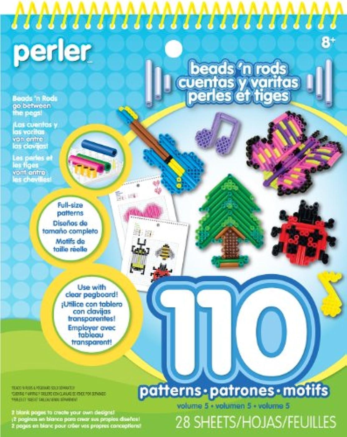 Perler Beads N Rods Pattern Pad