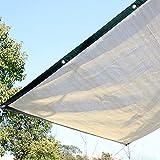 Winmany Home Balcony Gardening Shade Net UV Block Sun Shade Sunscreen Net Thicken Shade Net Balcony Plant Protection Sunscreen Breathable Shade Sail (2x4m)