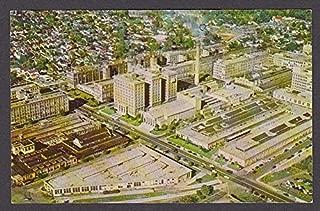 National Cash Register Company Factory Dayton OH postcard 1950s