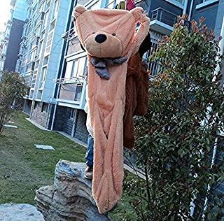 140Cm to 200Cm Giant Unstuffed Empty Teddy Bear Bearskin Coat Soft Big Skin Shell Semi-Finished Plush Toys Soft Kid Doll Must Have Gifts Boy Girl Gifts Girls Favourite Characters