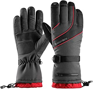 Ski Gloves Waterproof Breathable Snowboard Gloves, 3M Thinsulate Insulated Warm Snow Gloves, Fits Men & Women