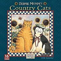 Debbie Mumm カントリーキャット 2016 壁カレンダー