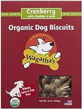wagatha's organic dog biscuits