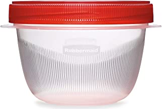 Rubbermaid 071691394532 TAKEALONG 3pc 2cup Twist TOP 1 Clear
