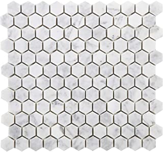 Best carrara marble hexagon tiles Reviews
