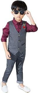 topmodelss フォーマル スーツ ベストズボン2点セット 子供服 男の子スーツ 紳士服 卒業式 入学式 結婚式 発表会