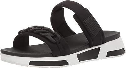 FitFlop Women's Heda Sport Slide-Chain Sandal
