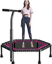 42 Inch Mini-trampoline Voor Volwassenen, Mini Fitness Trampoline Met Leuning Voor Kind En Volwassenen, Geweldige Oefening...